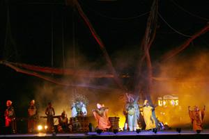 Maravilla Circo Baobab con su arte africano