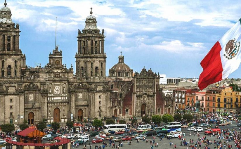 Cultural Events And Historic Building In Mexico